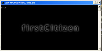 Command Prompt | firstcitizen